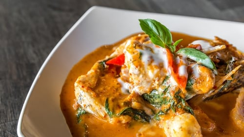 Monkfish & Chickpea Curry