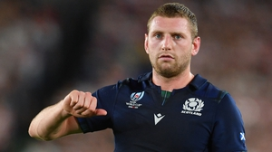 Finn Russell appears to have given thumbs down to playing under Gregor Townsend