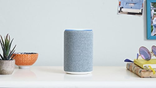 The new Echo comes in four colour options