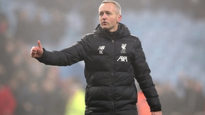 Liverpool under 23 manager Neil Critchley