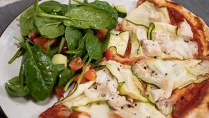 Chicken & Courgette Pizza
