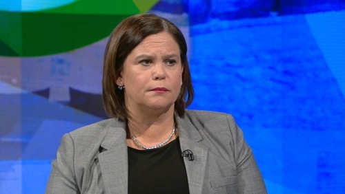 Mary Lou McDonald said she did not believe that it had been said that Paul Quinn was a criminal