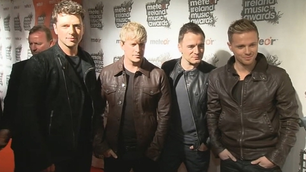 Westlife at the Meteor Awards (2010)