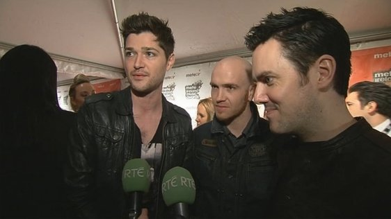 The Script at the Meteor Awards (2010)