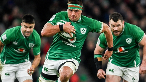 CJ Stander was man of the match against Scotland