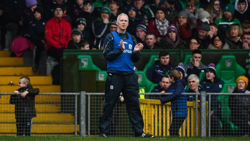 Shaen O'Neill succeeded Micheál Donoghue as Galway hurling manager in November