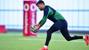 Conor Murray will win his 80th Ireland cap against Wales, with John Cooney named among the replacements