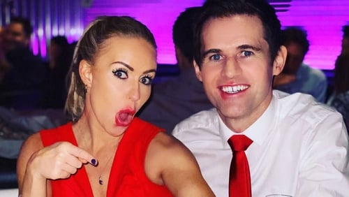 Kevin Kilbane and Brianne Delcourt became engaged after four months of dating
