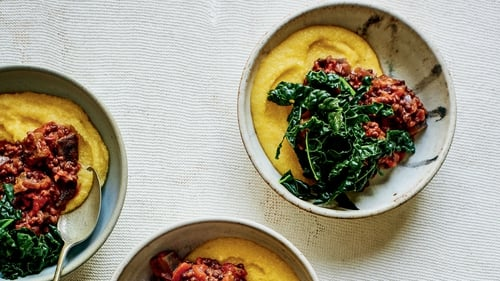 Meat-free, simple, and you can serve it with whatever you fancy.