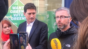 Eamon Ryan says the party is targeting 15 Green seats in the election