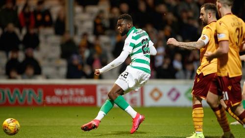 Odsonne Edouard scored 22 league goals before coronavirus cut the season short