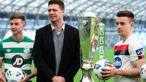 Niall Quinn is looking forward to Sunday's President's Cup between Shamrock Rovers and Dundalk