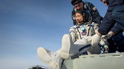 Christina Koch has returned to Earth after 328 days in space