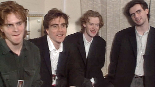The 4 of Us at the IRMA Awards, 1990