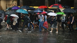 A rain warning has been issued for Sydney