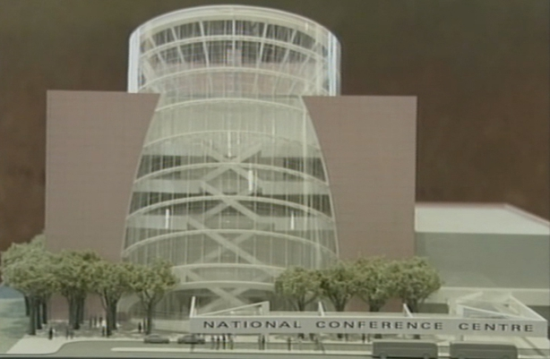 Plans for the National Conference Centre (2000)