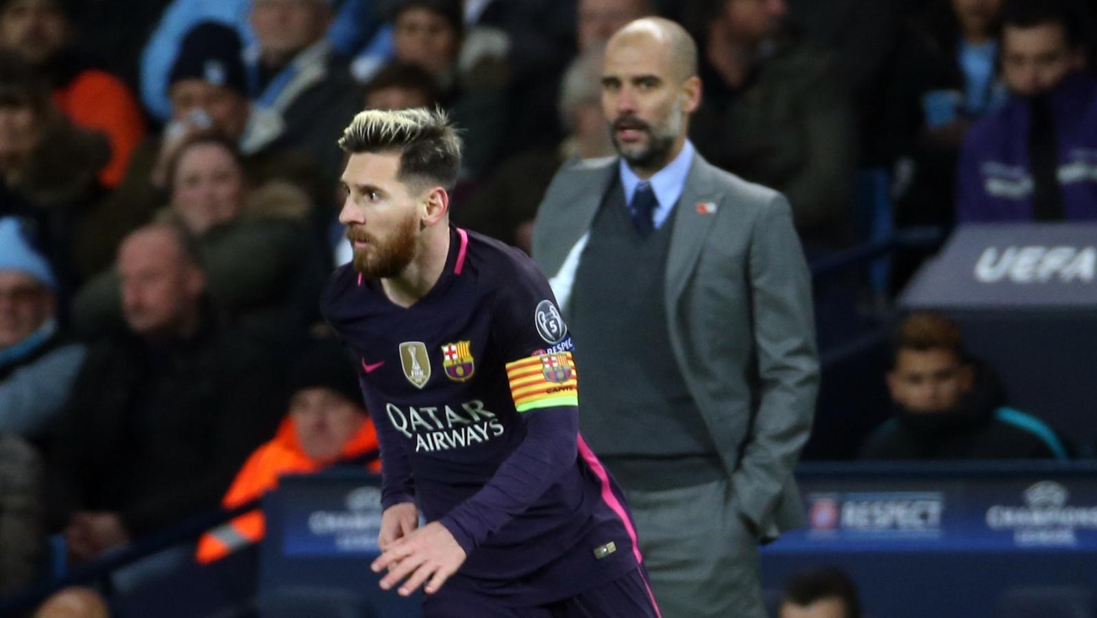 Guardiola dismisses Messi to Man City speculation