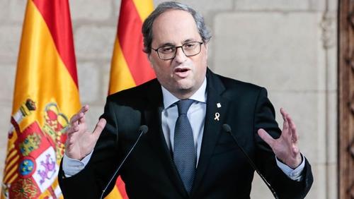 Catalonia's regional leader Quim Torra has held talks with Spanish Prime Minister Pedro Sanchez