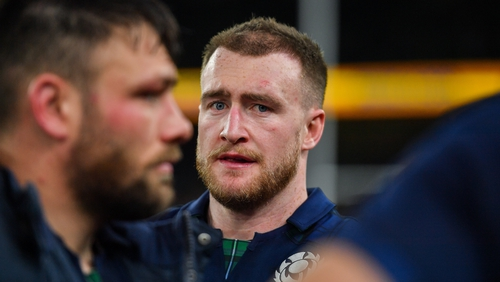 Scotland's captain was not taking the bait from England's head coach