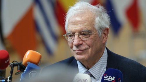 Josep Borrell caused anger by referring to students who stage Fridays for Future as suffering from 'Greta syndrome'