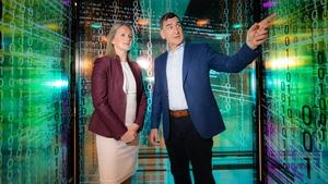 Helena O'Dwyer, head of wavespace and Frank O'Dea, Chief Innovation Officer, EY Ireland