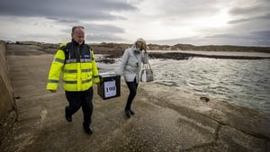 Around 750 people are registered to vote on five islands in Donegal