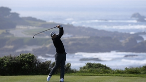 Seamus Power carded a 68 during the second round of the Pebble Beach Pro-Am at Spyglass Hill.