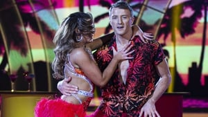 Now Ryan looks like he can't believe his luck that he's dancing with Kylee!