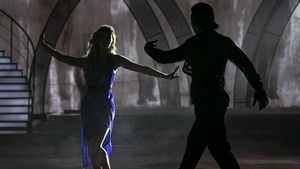 Gráinne and Pasquale go dancing in the dark