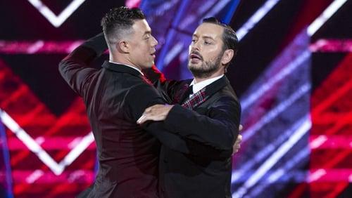 Kai and Brian became Ireland's first same-sex TV dancers