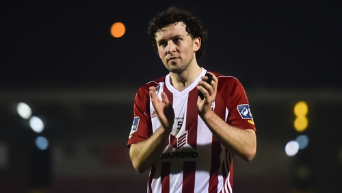 Barry McNamee has departed Derry City for Finn Harps
