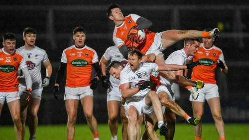Armagh raced into 0-08 and 0-01 lead at half-time and never relinquished that advantage in the second period