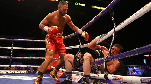 Kell Brook back in groove with KO of Mark DeLuca