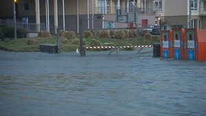 Flooding occurred in a number of areas, including Galway