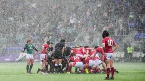 It's been wet in the second-half