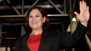 Mary Lou McDonald, the leader of Sinn Féin which secured the largest share of votes in the election