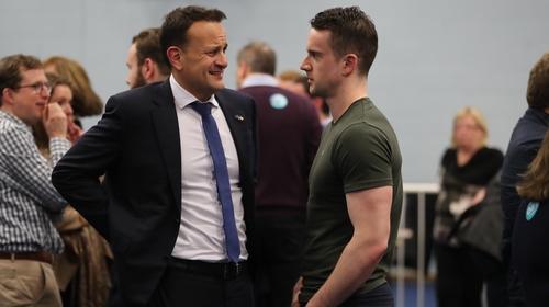 An Taoiseach, Leo Varadkar agus a chéile, an Dochtúir Matt Barrett.