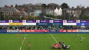 A general view during the Women's Six Nations Rugby Championship match