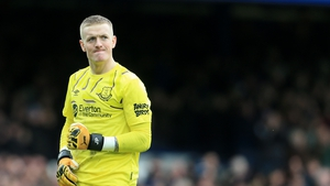 Pickford was on the winning side against Crystal Palace but made a glaring error for the Eagles' goal