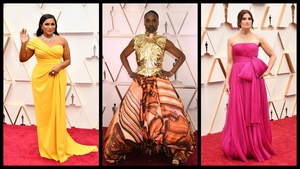Every year we see multiple stars dress as an Oscar statuette themselves, but this year bright saturated colours and shades of pink were just as popular on the red carpet.
