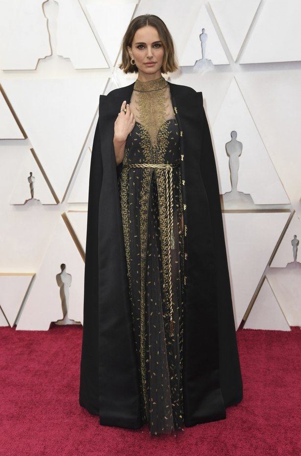 Natalie Portman arrives at the Oscars