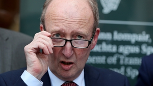 Shane Ross said documents will  be treated as valid while NCT and driving test centres remain closed