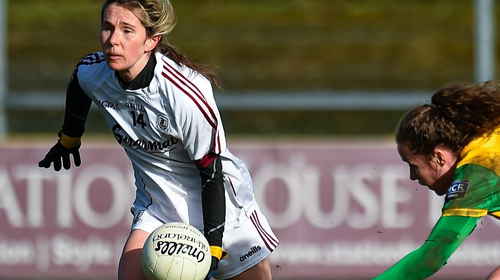Tracey Leonard scored 3-4 in Galway's comeback win over Donegal