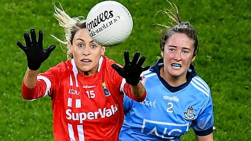 Cork and Dublin met in this year's league on 8 February