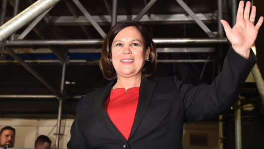 Mary Lou McDonald - President of Sinn Fein