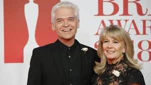 Phillip Schofield pictured with his wife of 27 years Stephanie Lowe