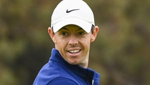 Rory McIlroy has moved above Brooks Koepka