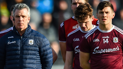 Padraic Joyce has made a positive start as Galway manager