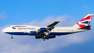 A BA jumbo jet is to be preserved as a commercial TV and film set