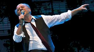 On song: the inimitable Art Garfunkel